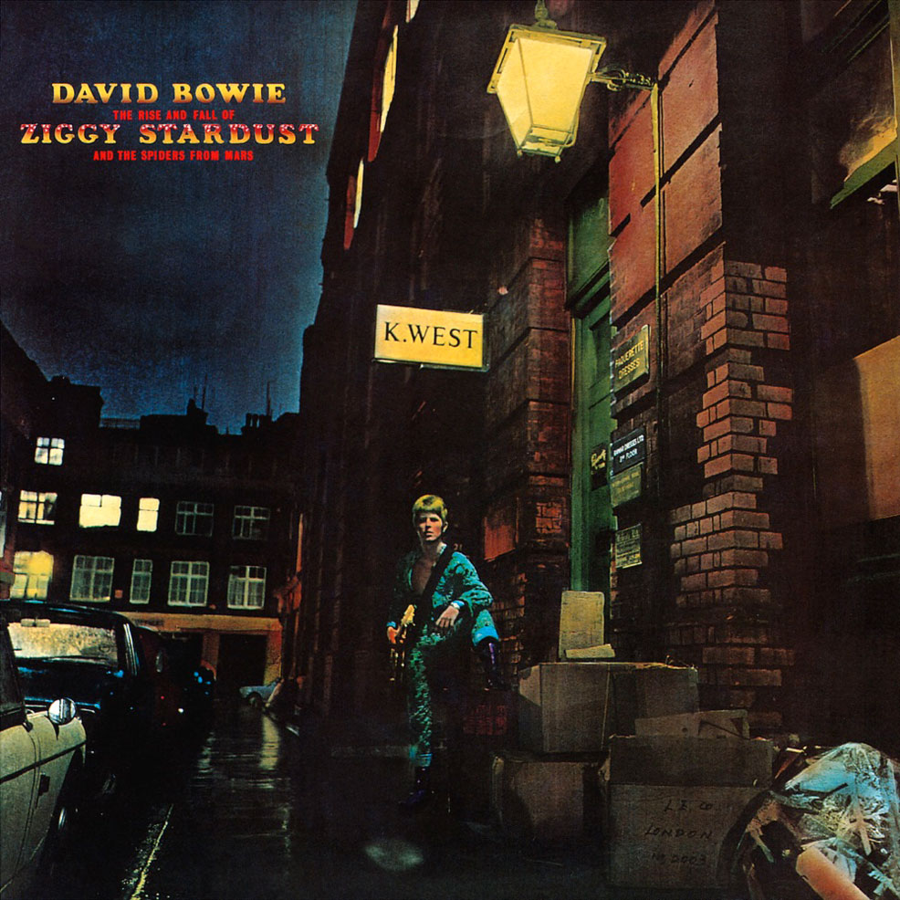 [100 Days]  Day 3: David Bowie – The Rise And Fall Of Ziggy Stardust
